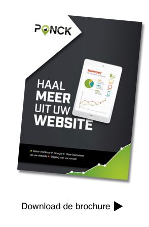 Brochure PONCK