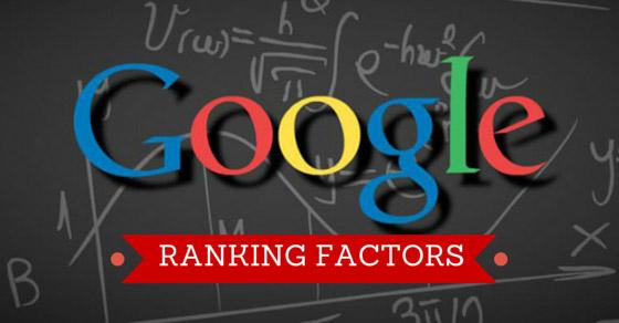 Google onthult belangrijkste ranking factoren