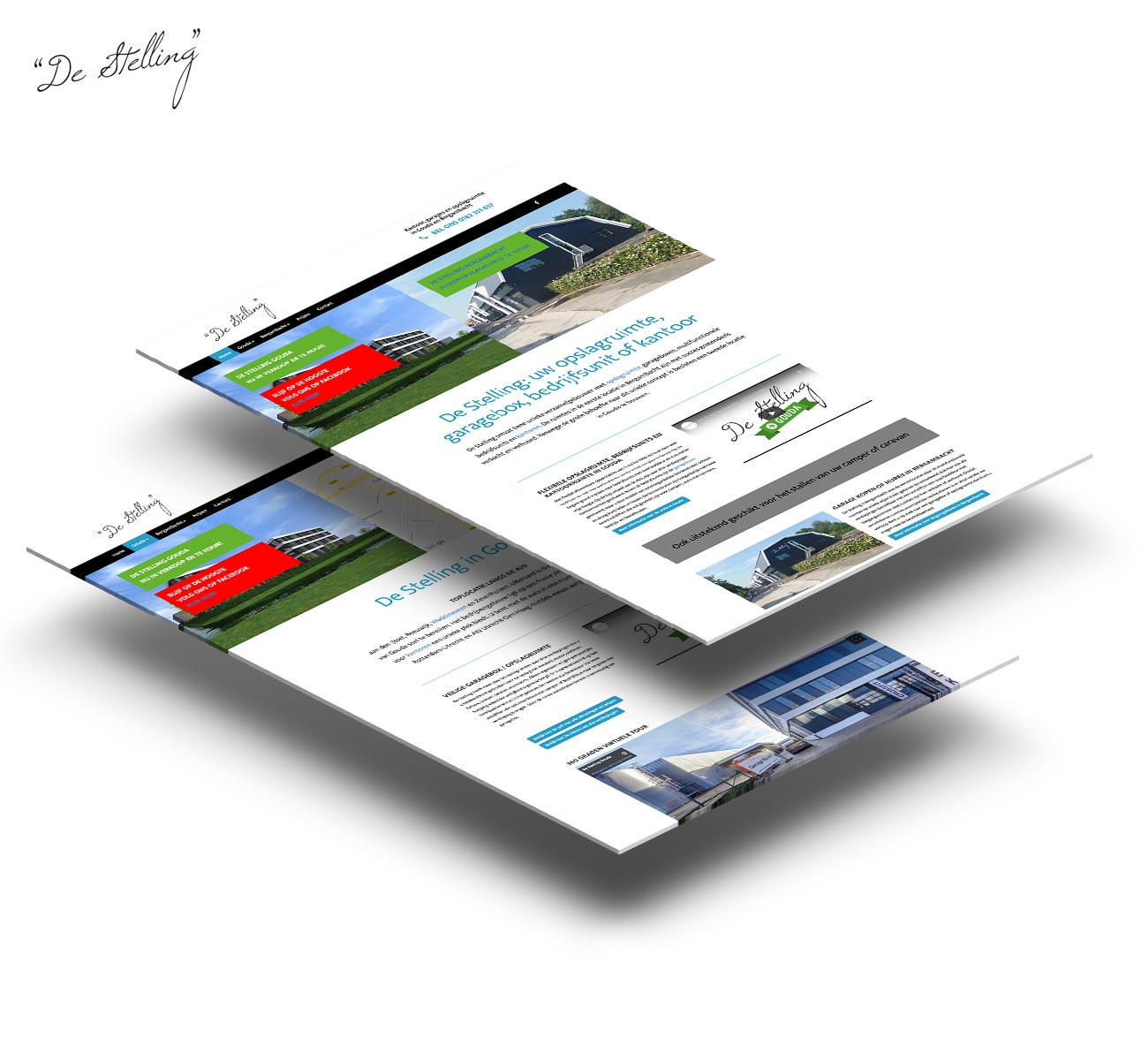 De stelling website