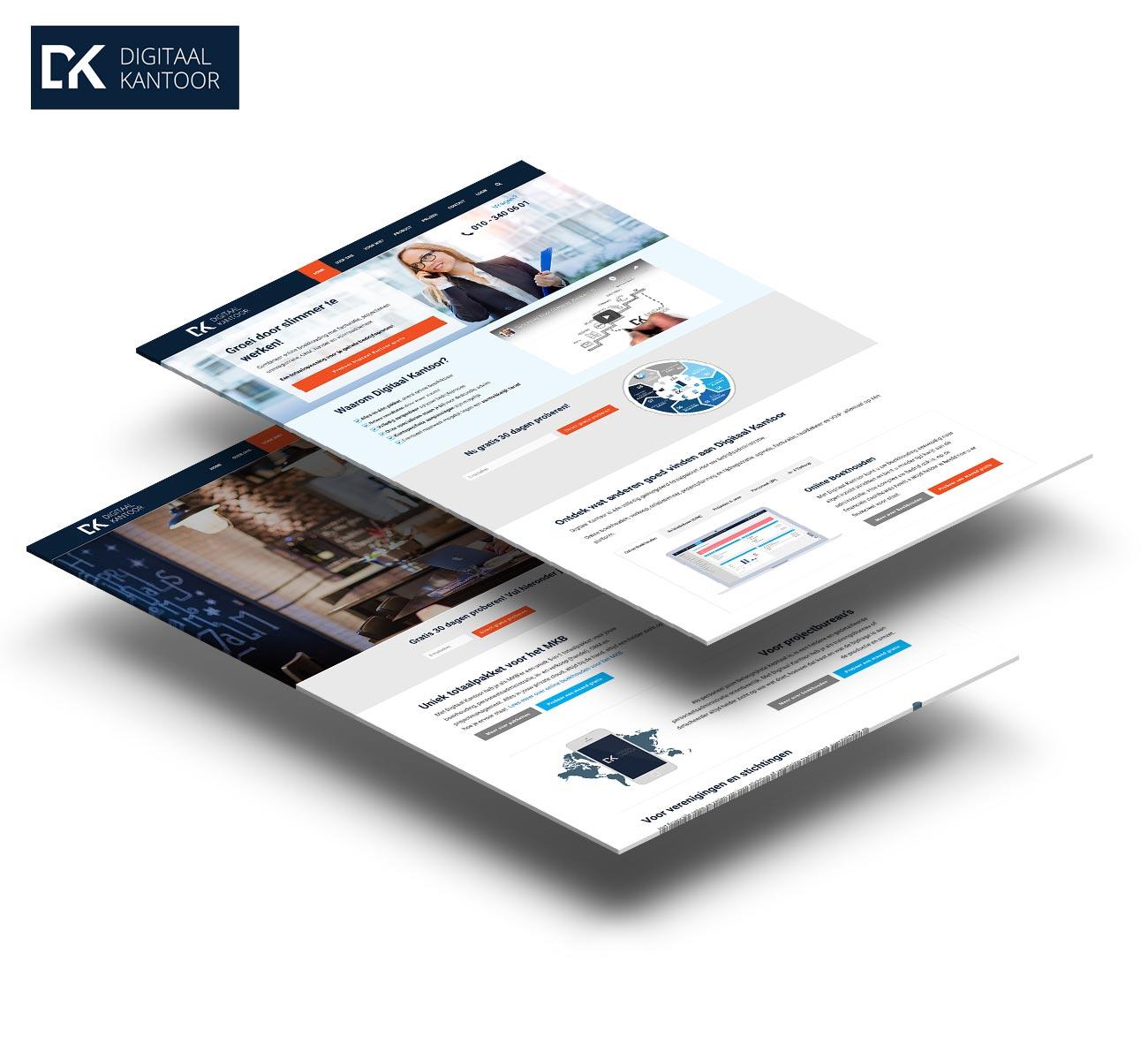 Digitaal kantoor website