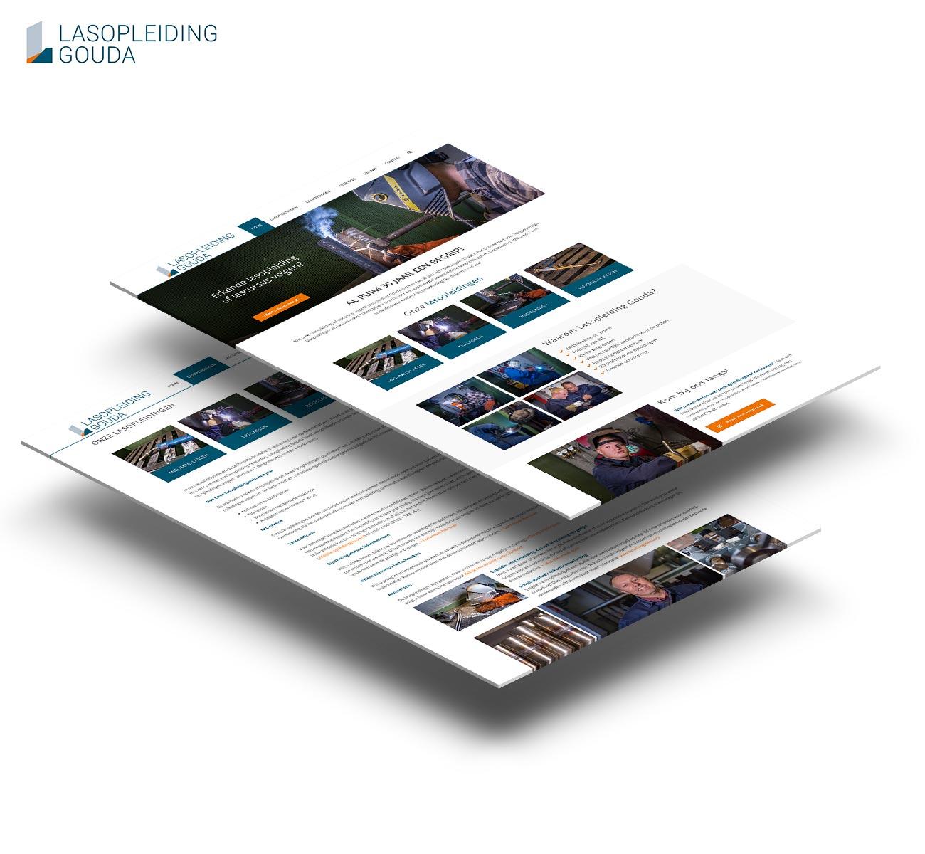 Lasopleiding Gouda Website