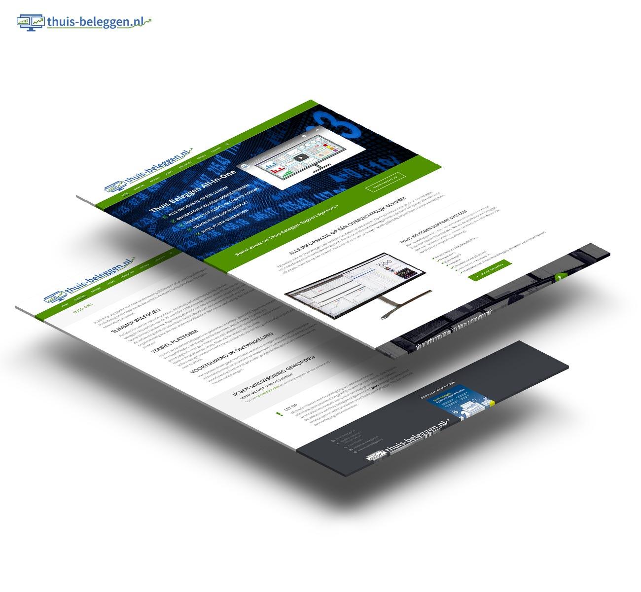 Thuis beleggen website