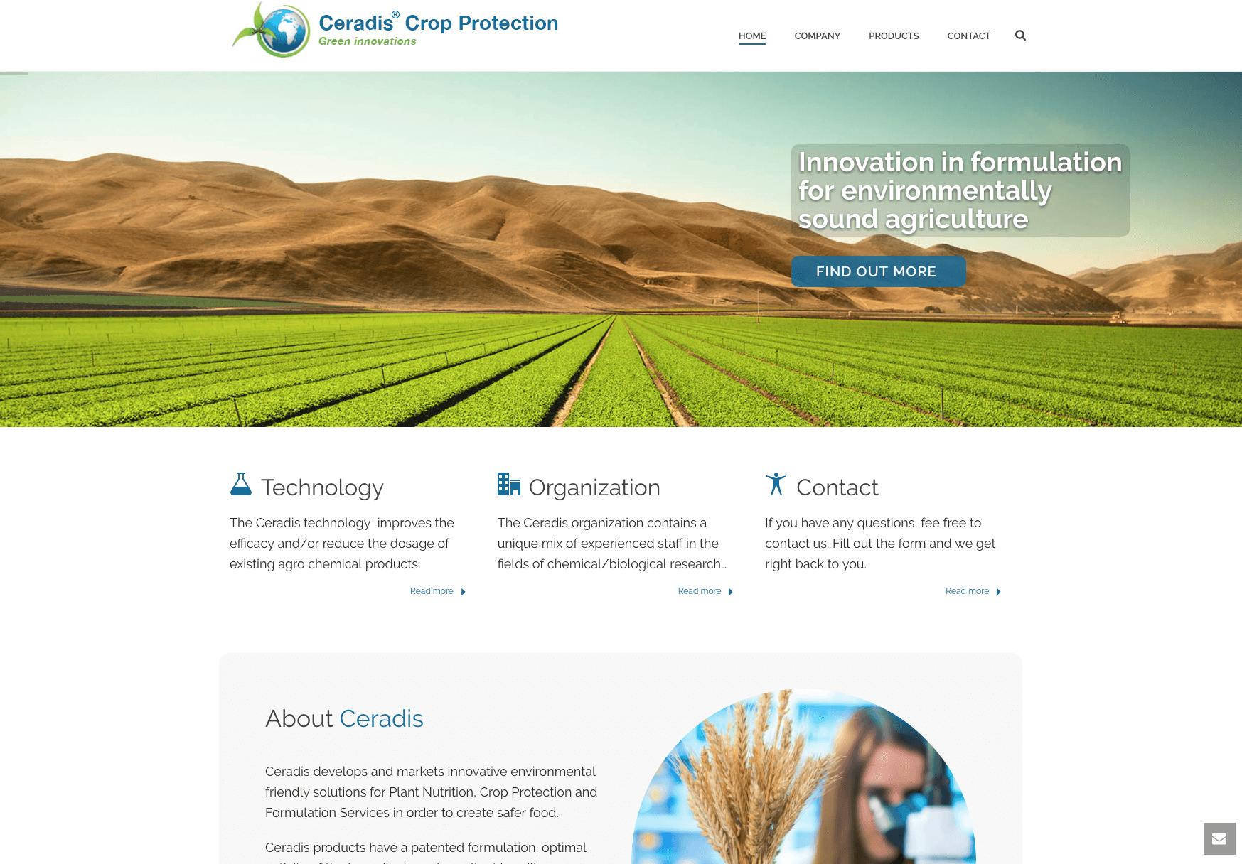 portfolio ceradis webdesign