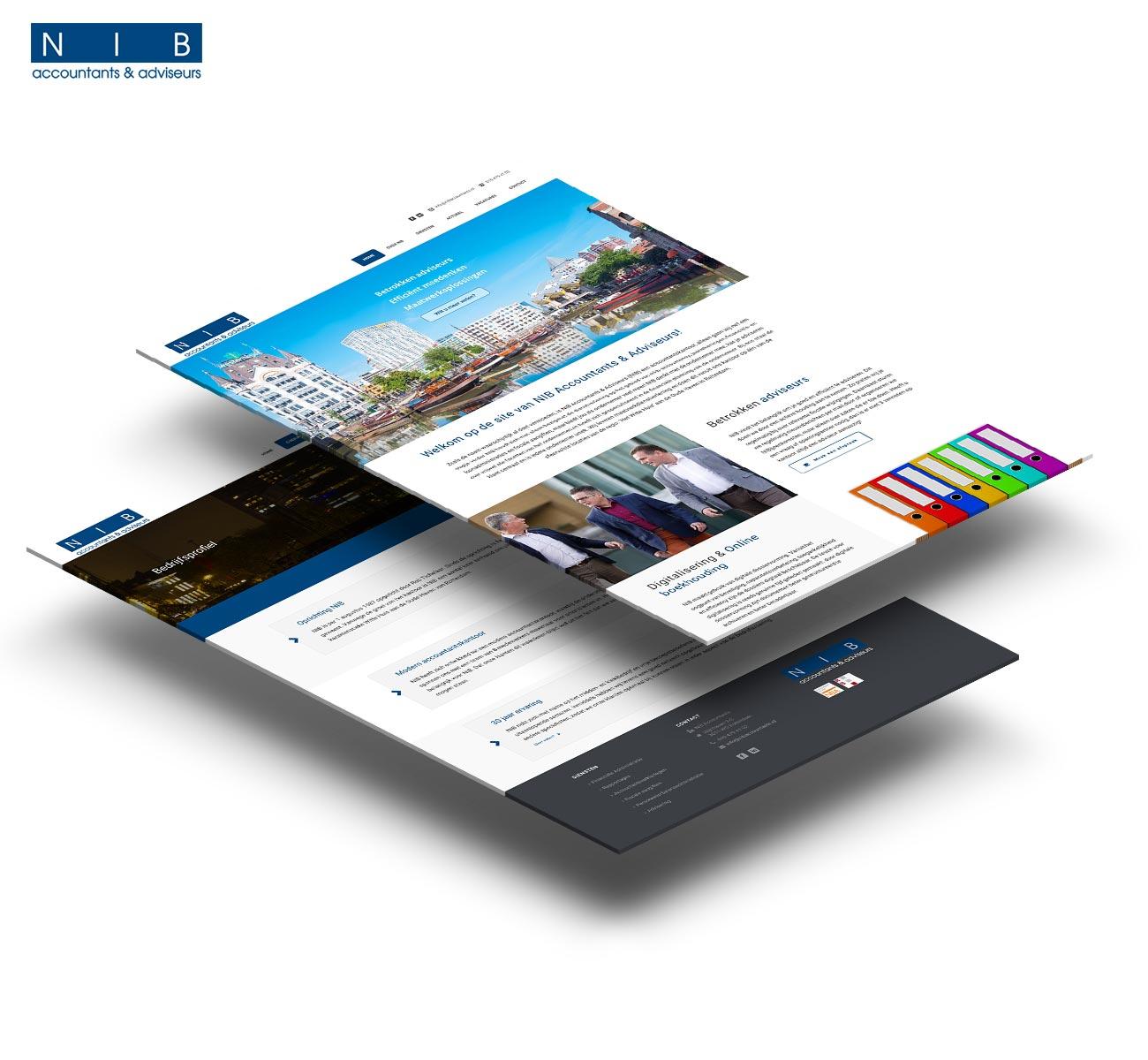 NIB Accountants en adviseurs website