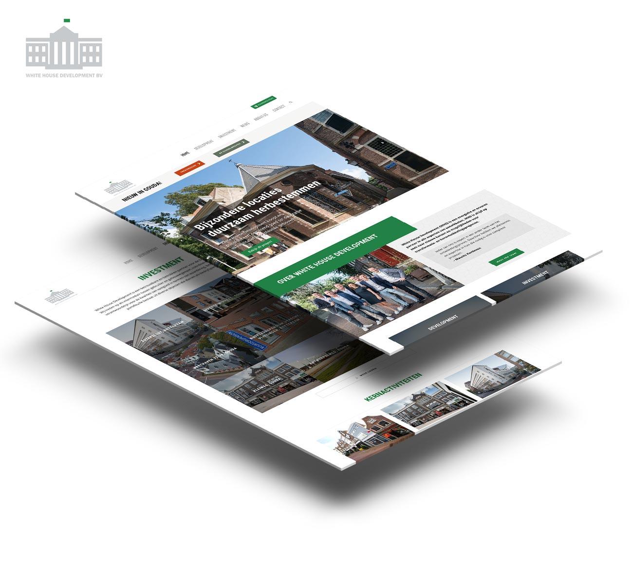 White house development website