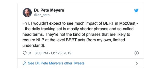 BERT-effect-op-zoekresulaten