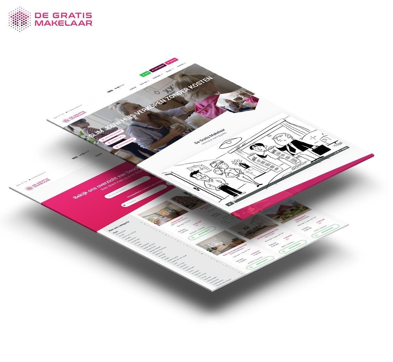 De gratis makelaar website